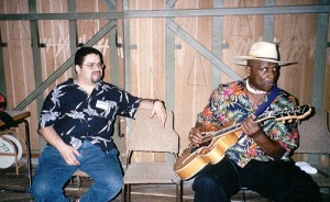 16. Backstage in Havana with Taj Mahal