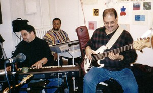 17. Myself, Fred McFarland, Ruben Rodriguez giving a school demo
