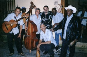 25. With street musicians in Old Havana