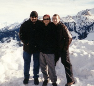 8. Myself, Dafnis Prieto, and Greg Ryan in the Alps