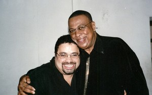 9. With Chucho Valdez